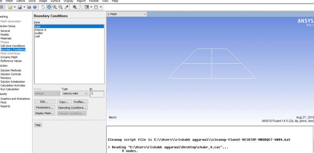 geometry is imported with mesh in ansys.JPG