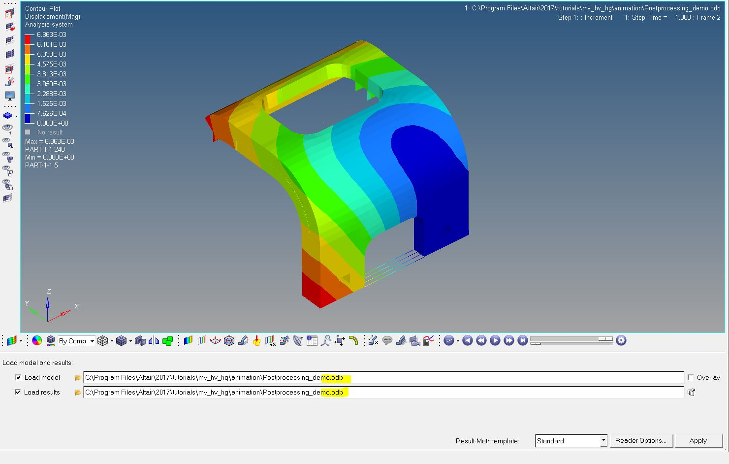 Import results from Abaqus to Hyperworks - Altair FEKO - Altair Forum