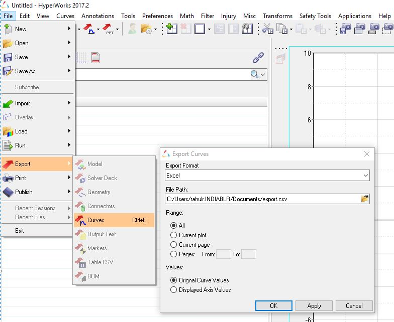 Output Data to Excel - Altair HyperView - Altair Forum